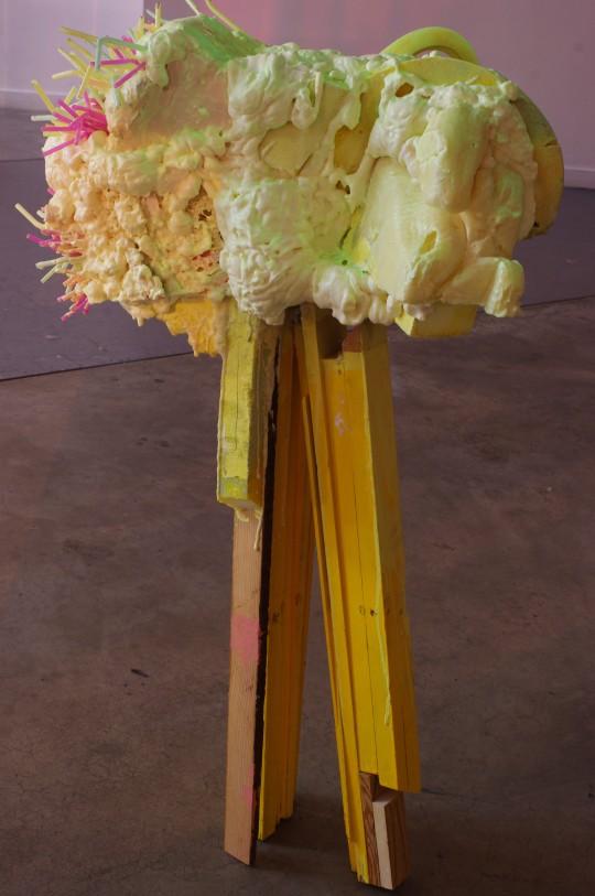 Kuh del Rosario, Simple Rapture (Fat Cloud), 2012.
